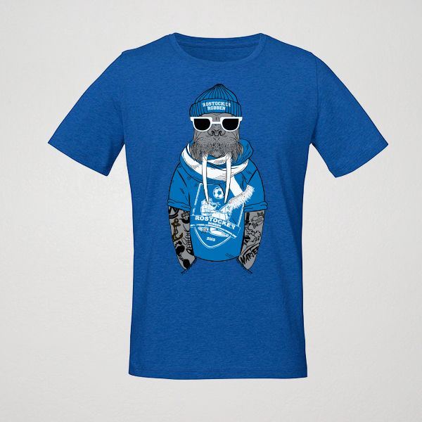 Robben T-SHIRT 1 royal blau dunkel
